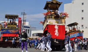 津島の山車